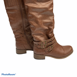 Primary Photo - BRAND: XOXO STYLE: BOOTS KNEE COLOR: CAMEL SIZE: 6.5 SKU: 311-31111-30268