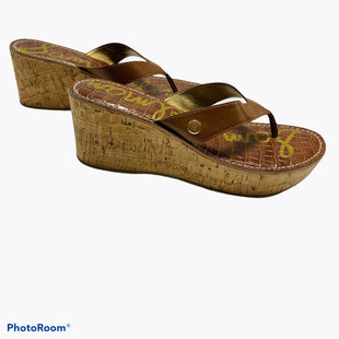 Primary Photo - BRAND: SAM EDELMAN STYLE: SANDALS HIGH COLOR: CAMEL SIZE: 8.5 SKU: 311-31111-39655