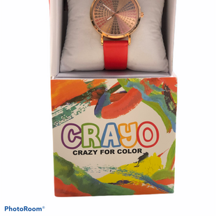 Primary Photo - BRAND:    CLOTHES MENTOR STYLE: WATCH COLOR: RED OTHER INFO: CRAYO - SKU: 311-31120-13019