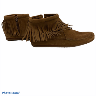 Primary Photo - BRAND: MINNETONKA STYLE: BOOTS ANKLE COLOR: CAMEL SIZE: 8 SKU: 311-31111-30358