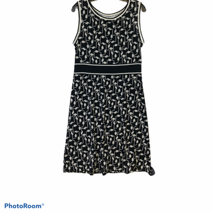 Primary Photo - BRAND: MAX STUDIO STYLE: DRESS SHORT SLEEVELESS COLOR: BLACK WHITE SIZE: L SKU: 311-31116-1771