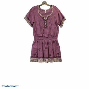 Primary Photo - BRAND: FREE PEOPLE STYLE: DRESS SHORT SHORT SLEEVE COLOR: PINK SIZE: S SKU: 311-31120-12631