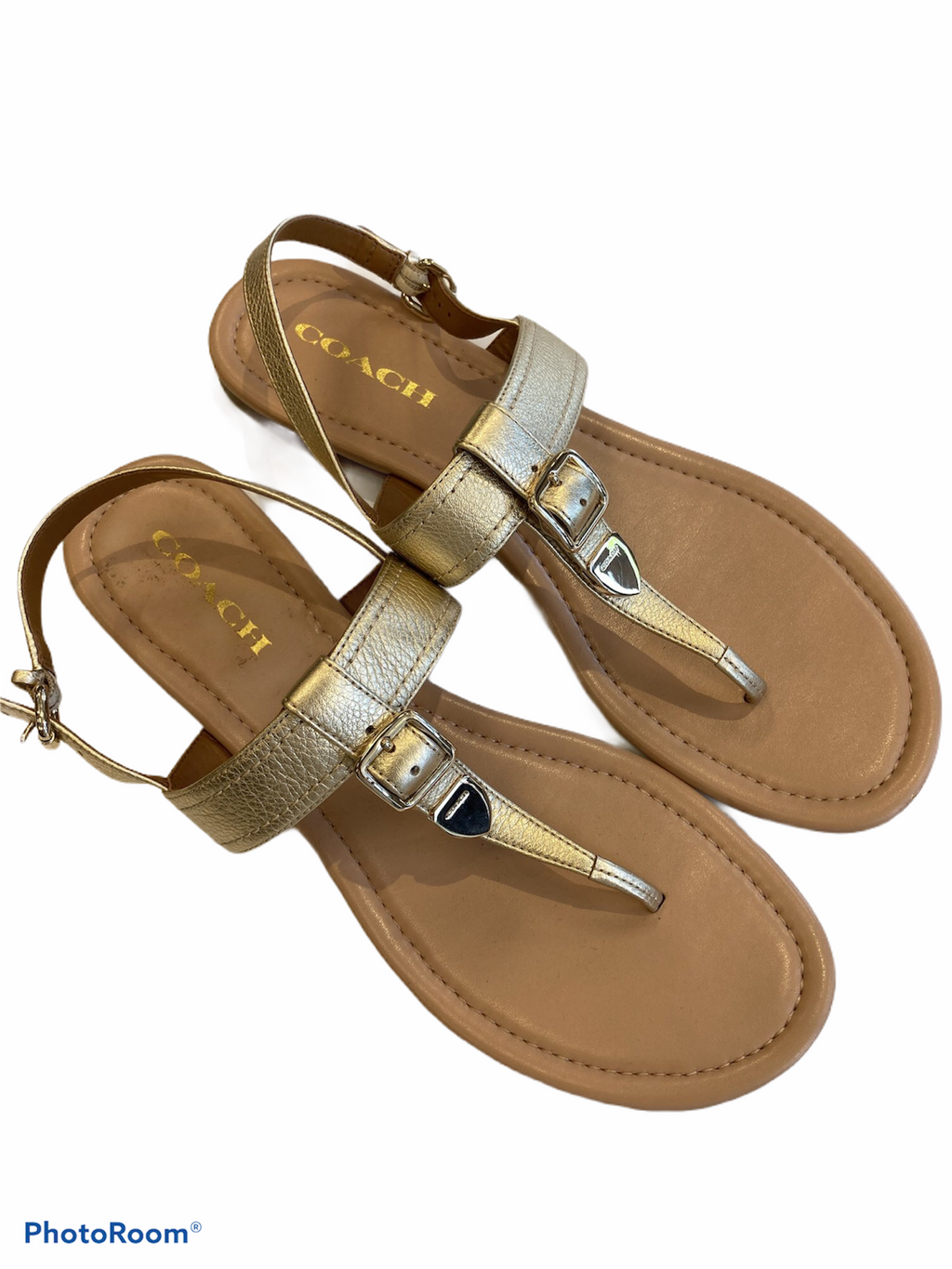 Sandals Flat By Coach  Size: 10