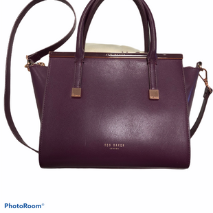SALE ALERT - Handbag Designer By Ted Baker  Size: Medium - BRAND: TED BAKER STYLE: HANDBAG DESIGNER COLOR: MAGENTA SIZE: MEDIUM OTHER INFO: AS IS - SMALL MARK ON THE FRONTSKU: 311-31111-34717. NOW MARKED 30% OFF!!!!.