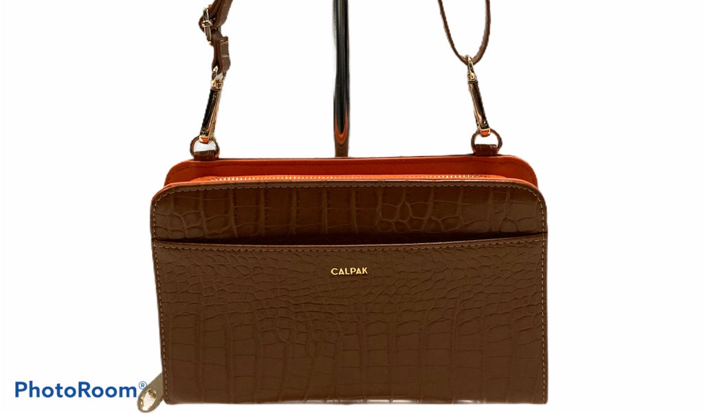 Calpak Handbag Leather Size: Small