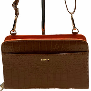 Calpak Handbag Leather Size: Small - BRAND:  CMB STYLE: HANDBAG LEATHER COLOR: CAMEL SIZE: SMALL OTHER INFO: CALPAK - SKU: 311-31130-3347