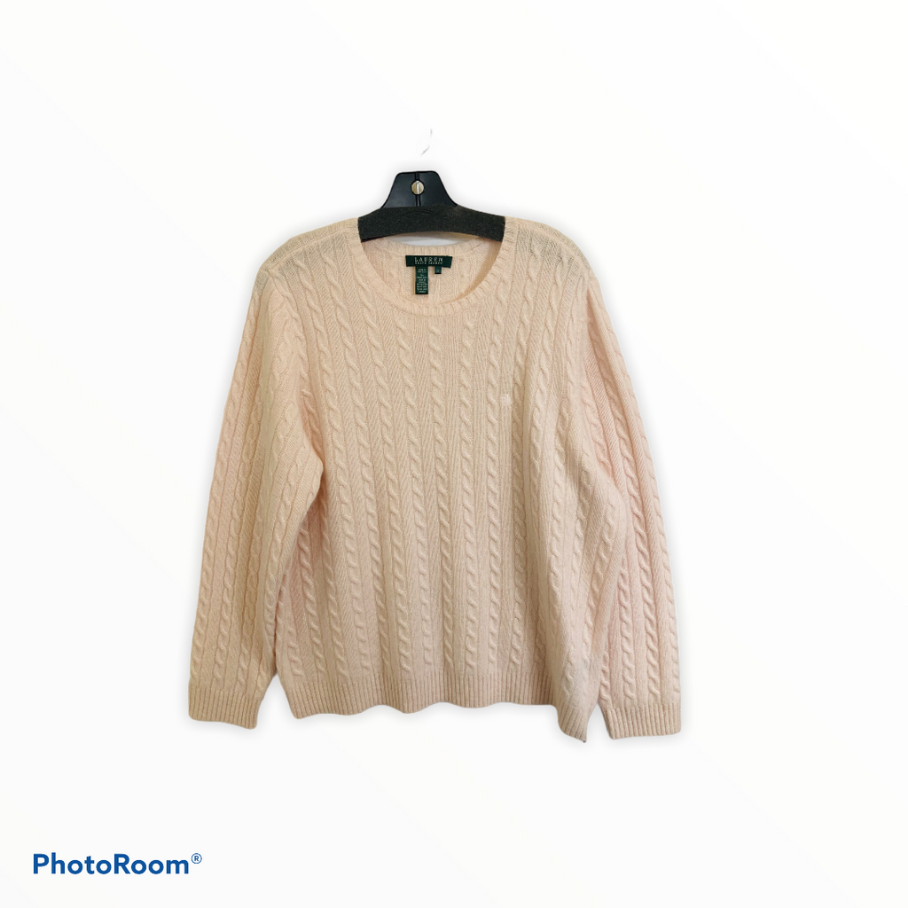 Wool Sweater Lightweight By Lauren By Ralph Lauren  Size: 2x