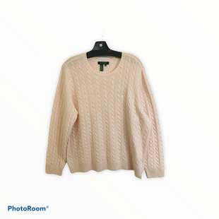 Wool Sweater Lightweight By Lauren By Ralph Lauren  Size: 2x - BRAND: LAUREN BY RALPH LAUREN STYLE: SWEATER LIGHTWEIGHT COLOR: PINK SIZE: 2X SKU: 311-31111-33100