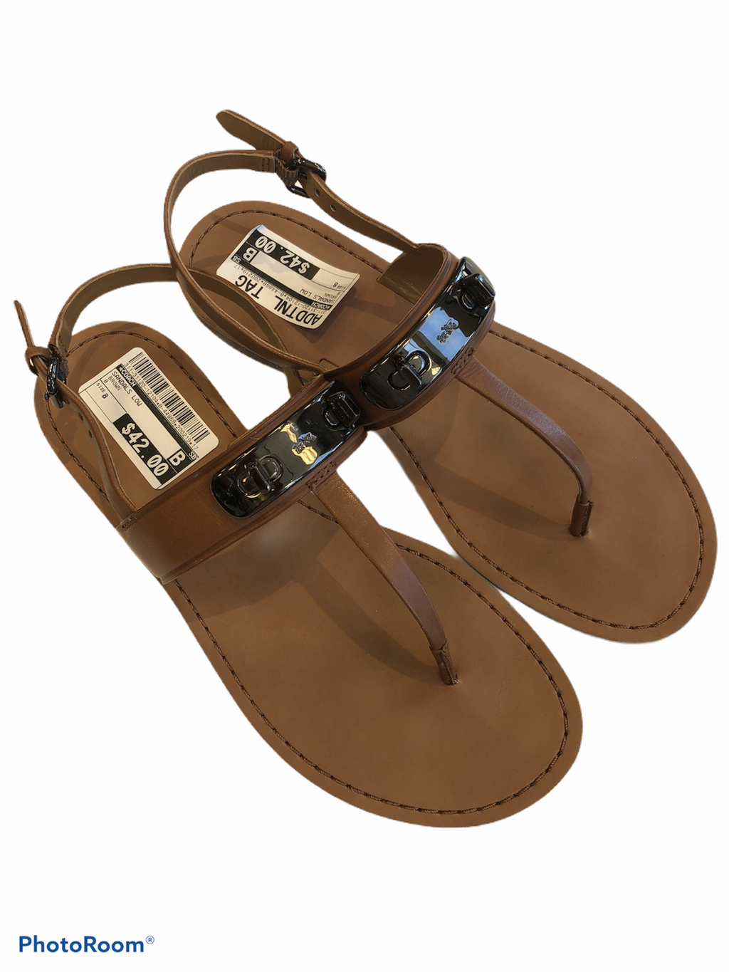 Sandals Low By Coach  Size: 8