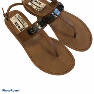 Sandals Low By Coach  Size: 8 - BRAND: COACH STYLE: SANDALS LOW COLOR: BROWN SIZE: 8 SKU: 311-31120-12104