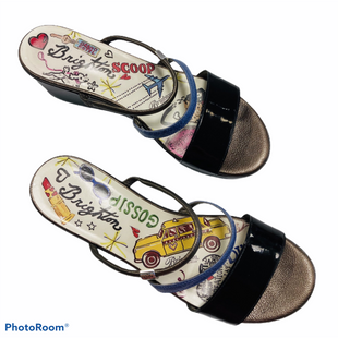 Sandals Low By Brighton  Size: 7 - BRAND: BRIGHTON STYLE: SANDALS LOW COLOR: BLACK SIZE: 7 SKU: 311-31120-4041