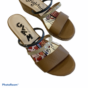 Sandals Low By Brighton  Size: 7 - BRAND: BRIGHTON STYLE: SANDALS LOW COLOR: CAMEL SIZE: 7 SKU: 311-31120-4040
