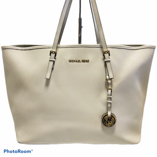 Handbag By Michael By Michael Kors  Size: Large - BRAND: MICHAEL BY MICHAEL KORS STYLE: HANDBAG COLOR: CREAM SIZE: LARGE SKU: 311-31120-9597