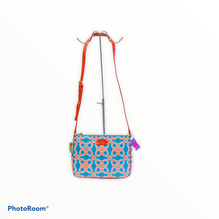 Handbag Designer By Kate Spade  Size: Small - BRAND: KATE SPADE STYLE: HANDBAG DESIGNER COLOR: RED BLUE SIZE: SMALL OTHER INFO: MOROCAN MARKET CROSSBODY SKU: 311-31111-25166