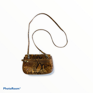 Handbag Leather By Brooks Brothers  Size: Small - BRAND: BROOKS BROTHERS STYLE: HANDBAG LEATHER COLOR: ANIMAL PRINT SIZE: SMALL SKU: 311-31111-34445