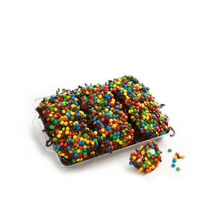 Chocolate Covered M&M Pretzels - Chocolate Works of Bellmore