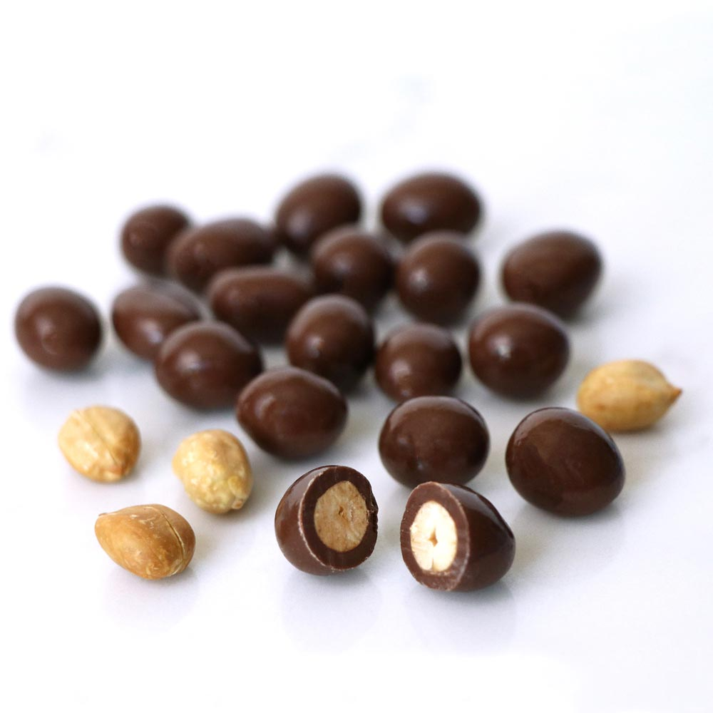 Chocolate Peanuts - Chocolate Works of Bellmore