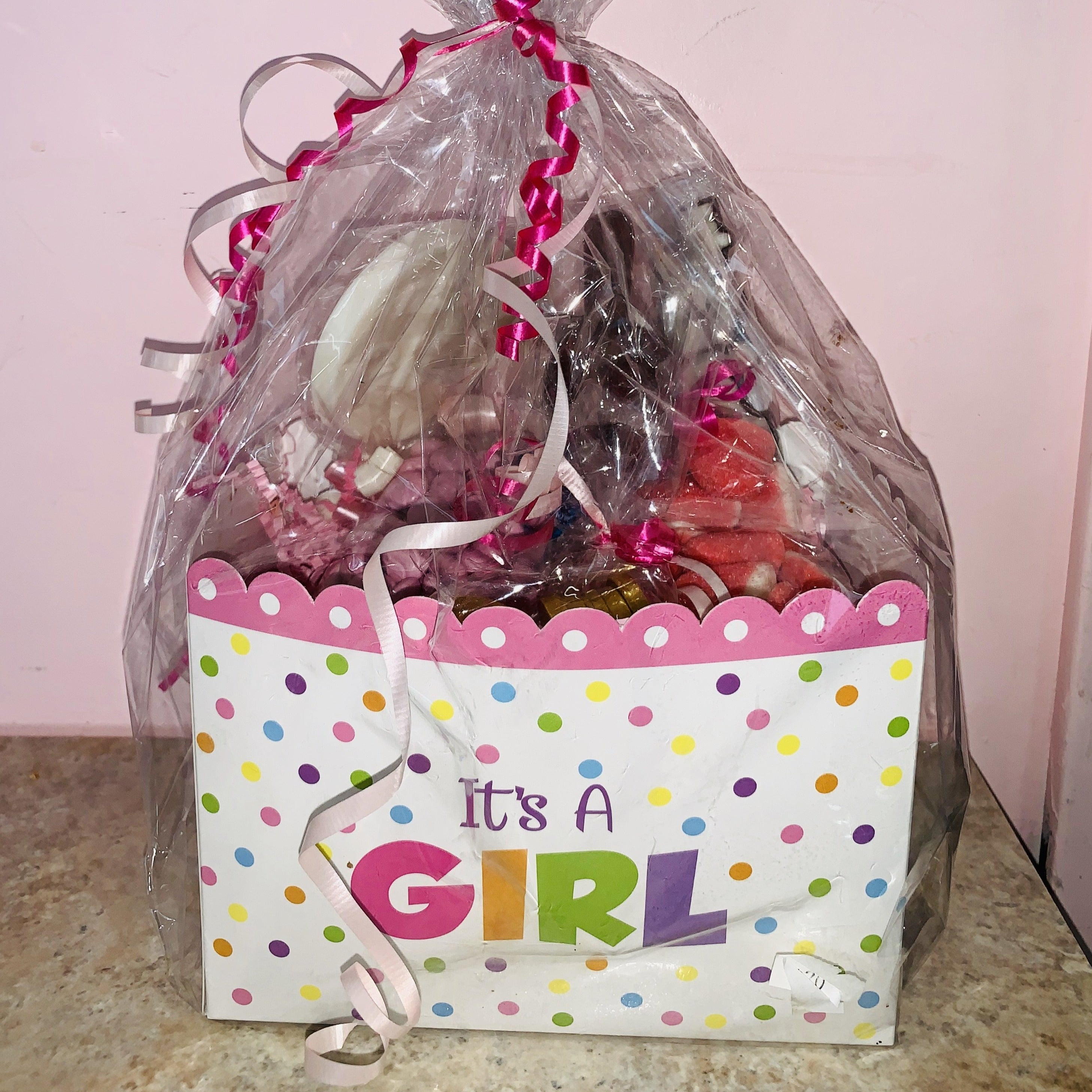 It's a Girl Candy Basket