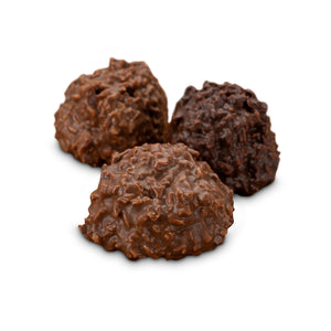 Coconut Cluster -Sugar Free - Chocolate Works of Bellmore