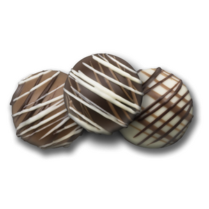 Caramel Chocolate Truffles - Chocolate Works of Bellmore