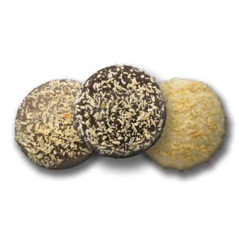 Toasted Coconut Chocolate Truffles - Chocolate Works of Bellmore