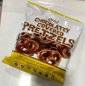 No Whey! Chocolate Covered Pretzels