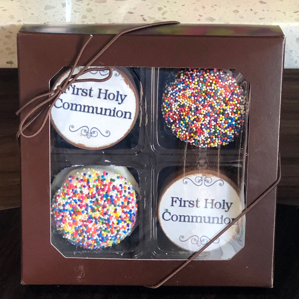 Communion 4pc Oreo Set