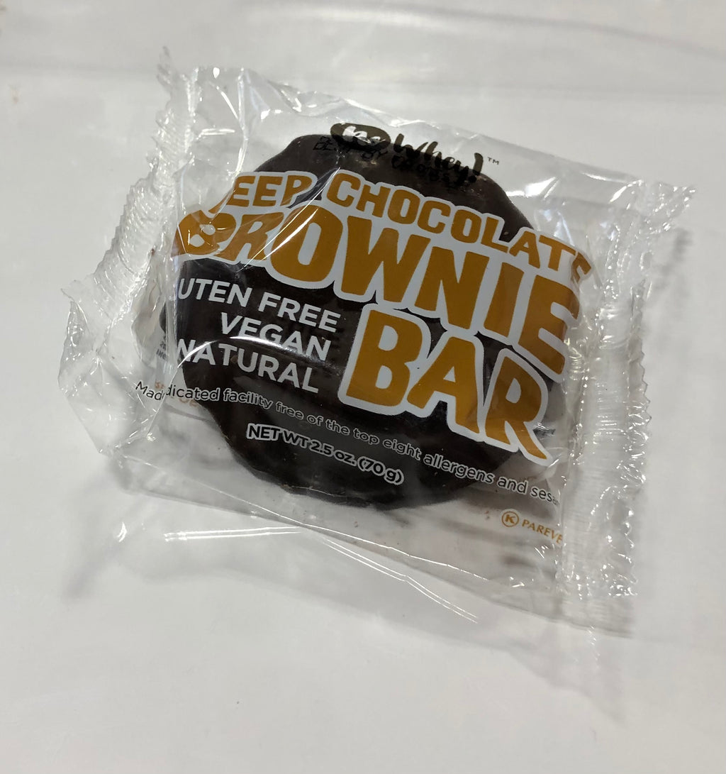 No Whey! Deep Chocolate Brownie Bar