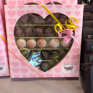 Mother's Day Assorted Truffle Pink Heart Box