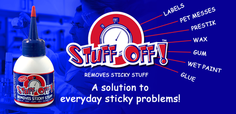 Stuff Off Removes Sticky Stuff