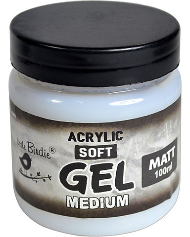 Acrylic Soft Gel Medium Matte 100ml