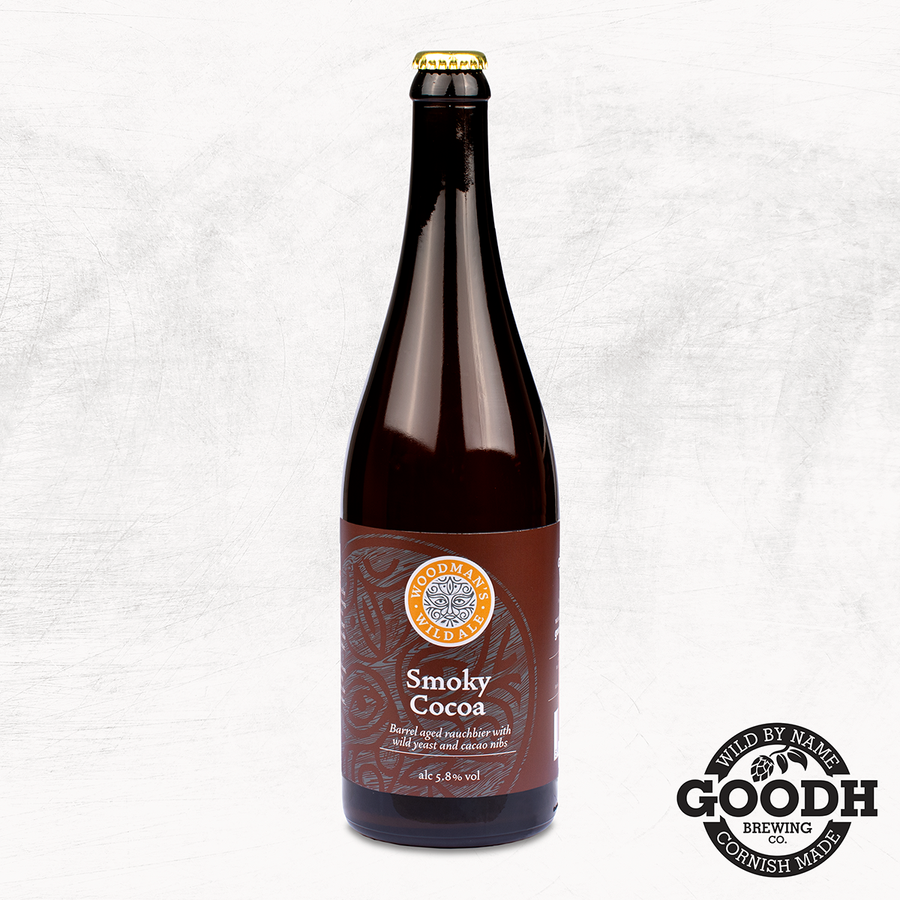 Smoky Cocoa - Barrel aged rauchbier with wild yeast and cacao nibs