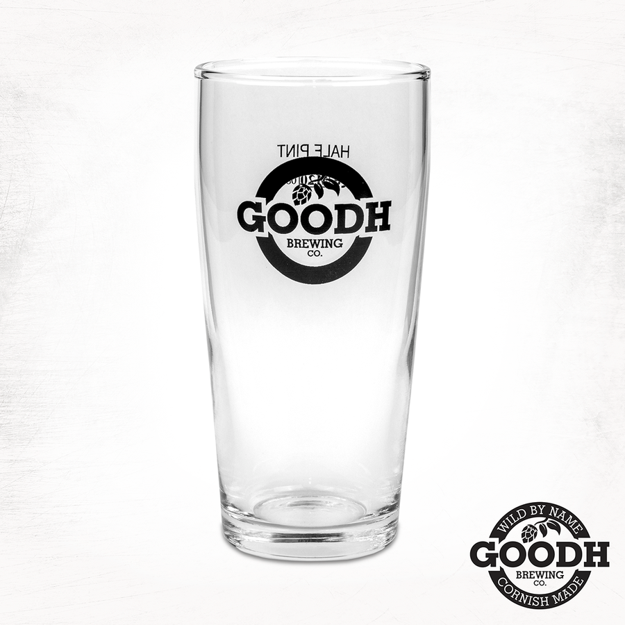Goodh Brew Beer Glass