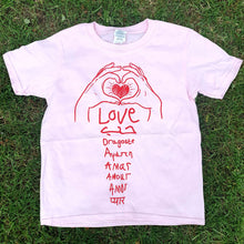 Load image into Gallery viewer, Love Love Love T-shirt (youth)