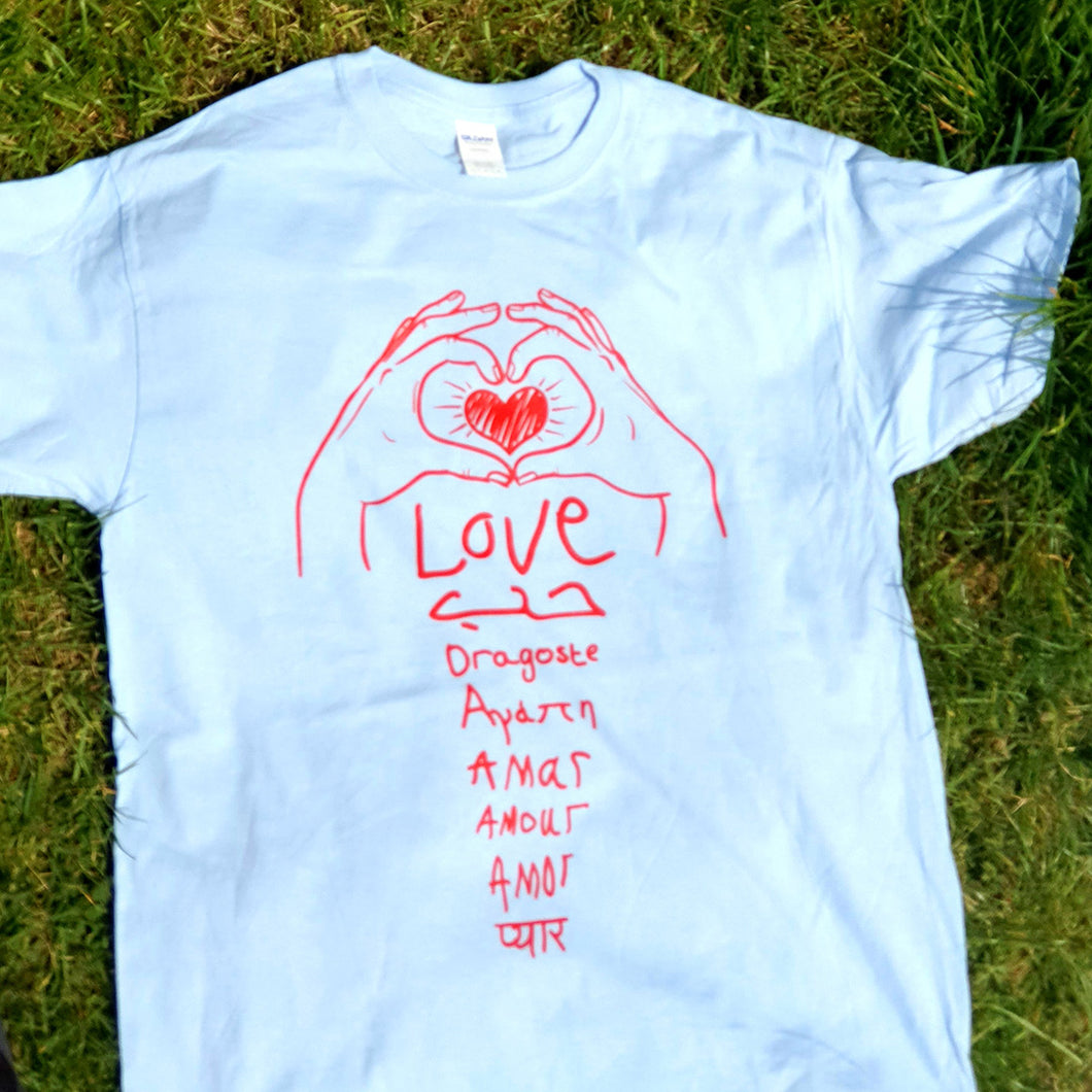 Love Love Love T-shirt (adult)