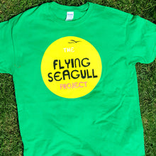 Load image into Gallery viewer, Flying Seagull Sunshine T-shirt (youth)