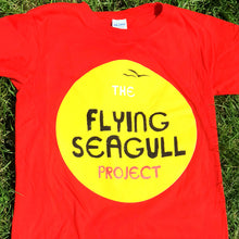 Load image into Gallery viewer, Flying Seagull Sunshine T-shirt (adult)