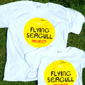 Flying Seagull Sunshine T-shirt (adult)