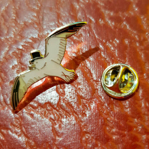 Limited edition Seagull pin badge
