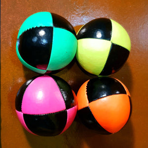 "Practically Perfect superior ""thuds"" juggling ball"