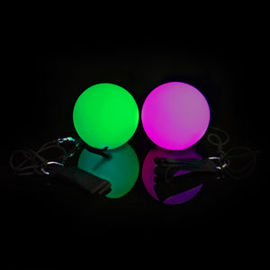 Multi-Function LED G4 Poly Poi - Pair