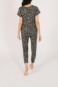 The Lexi Leopard Sunday Romper