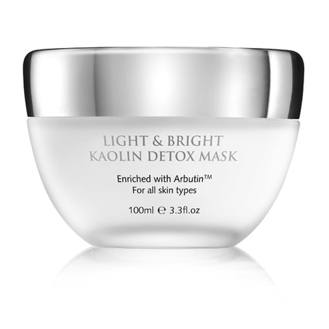 LIGHT & BRIGHT KAOLIN DETOX MASK