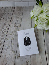 Load image into Gallery viewer, Personalised Will you be my Best man card - Usher - Page boy - card