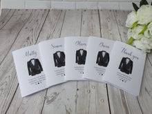 Load image into Gallery viewer, Personalised Thank you Best man card Gift set - Usher - Groomsman
