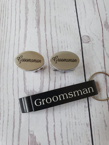 Personalised Will you be my Best man card Gift set - Usher - Groomsman