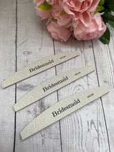 Load image into Gallery viewer, Bridesmaid Nail File Gift/ Favour