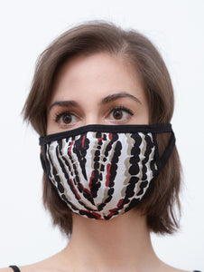 Stretch Stoffmaske mit Camouflage Muster