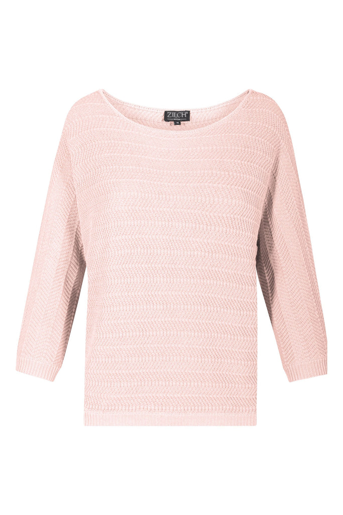 sweater batsleeve (blush)