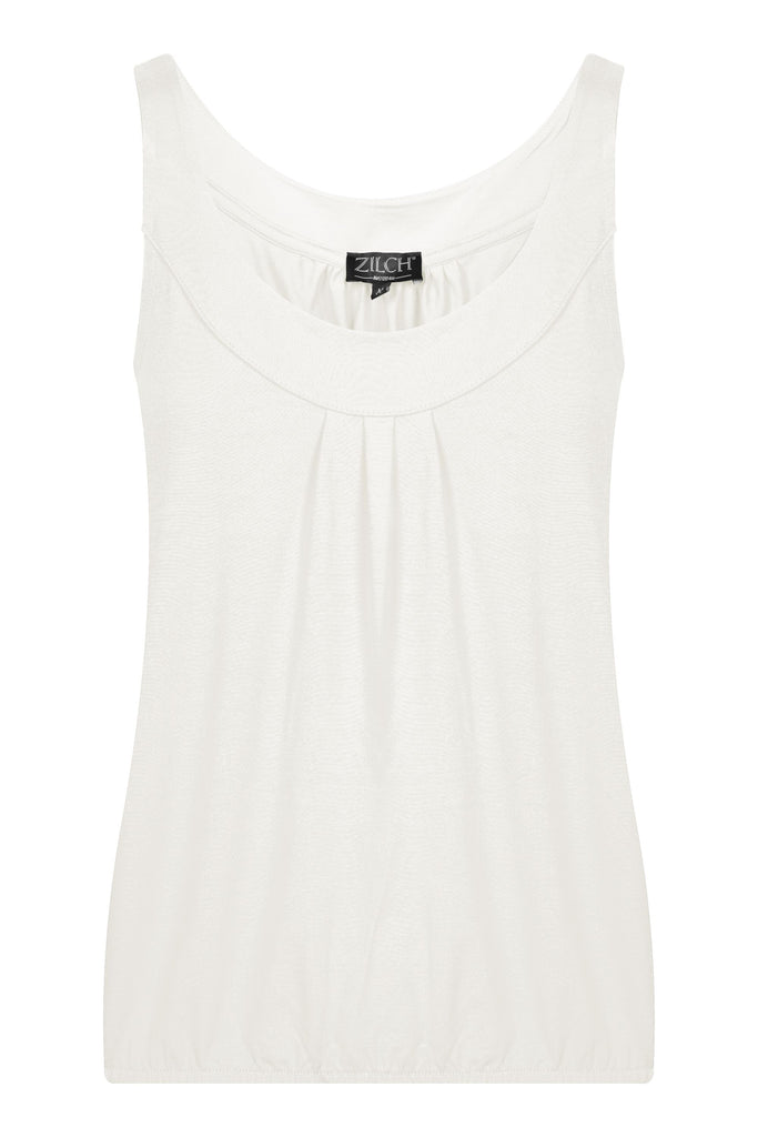 top sleeveless(off white)